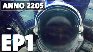 Gambar cover Let's Play Anno 2205 Episode 1 - Founding Negark Corp.! - Base Building Management Game
