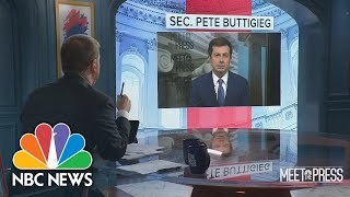 Full Buttigieg  Nterview There Are Some X-factors On Supply Chain Slowdown
