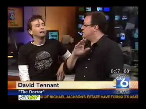David Tennant and RTD on San Diego television