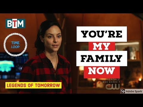 """DC's Legends of Tomorrow Season 3 Episode 11 """"you're my family now"""" (HD) """"Time Loop"""""""
