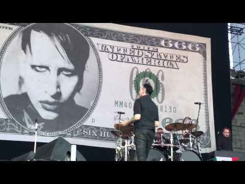 Marilyn Manson - 07. Deep Six - Live @ Knotfest Mexico (October 15, 2016)