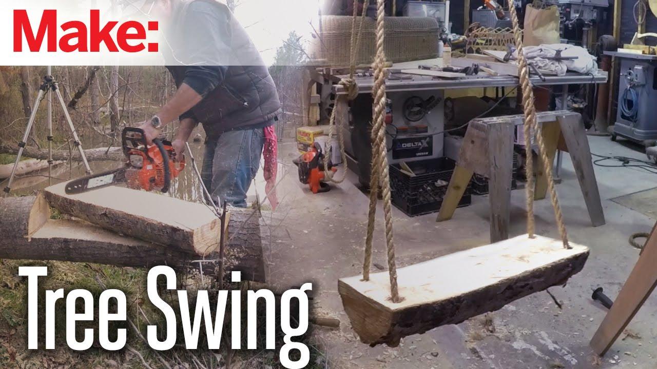 How to build a tree swing - Diresta Tree Swing Make