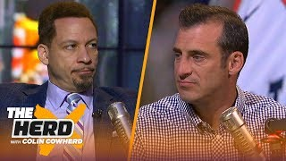Kawhi should go to Lakers, LeBron's legacy, & KD vs. Warriors — Chris Broussard | NBA | THE HERD