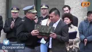 Gary Medel recibió homenaje por parte del Ejército de Chile