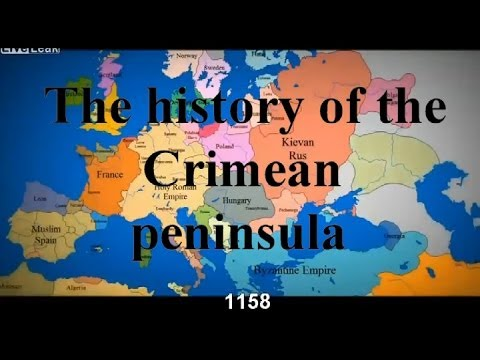 The history of the Crimean peninsula