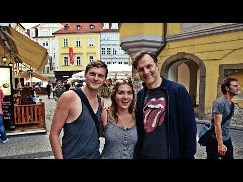 Look who we met from THE WALKING DEAD in Prague! | Daily Travel Vlog 133, Czech Republic