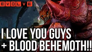 BLOOD BEHEMOTH IS UNBEATABLE!! Evolve Gameplay Walkthrough!! + WINNERS (XB1 1080p HD)