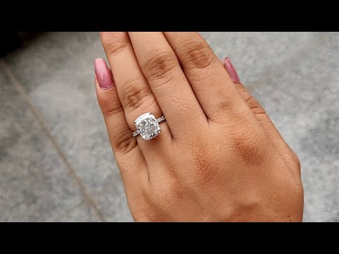 6.25-tcw-cushion-cut-moissanite-|-under-halo-engagement-ring-|-solid-white-gold-|-women-jewellery