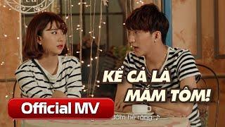 Kể Cả Là Mắm Tôm [Call Me Maybe Parody] - B Trần & Quỳnh Anh Shyn tái hợp