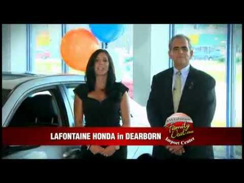 Lafontaine import center family deal of the week used for Lafontaine honda dearborn