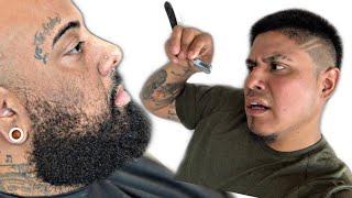 Beard Trim And Beard Sculpting | KEEP MY LINE HIGH