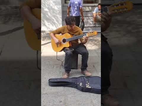 Guadalajara street performer