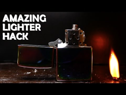 Amazing Lighter Hack! - Electric Zippo Lighter!!!