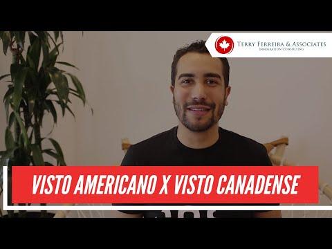 VISTO AMERICANO X VISTO CANADENSE | Veja AGORA As Suas Diferenças!