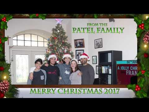 Patel Christmas Tree 2017 - YouTube