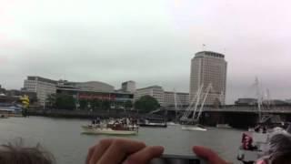 Queens jubilee Waterloo bride view 3/6/12