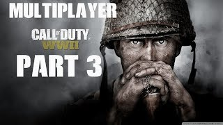Call of Duty: WWII Multiplayer ნაწილი 3 / ვტესტავ ახალ იარაღს