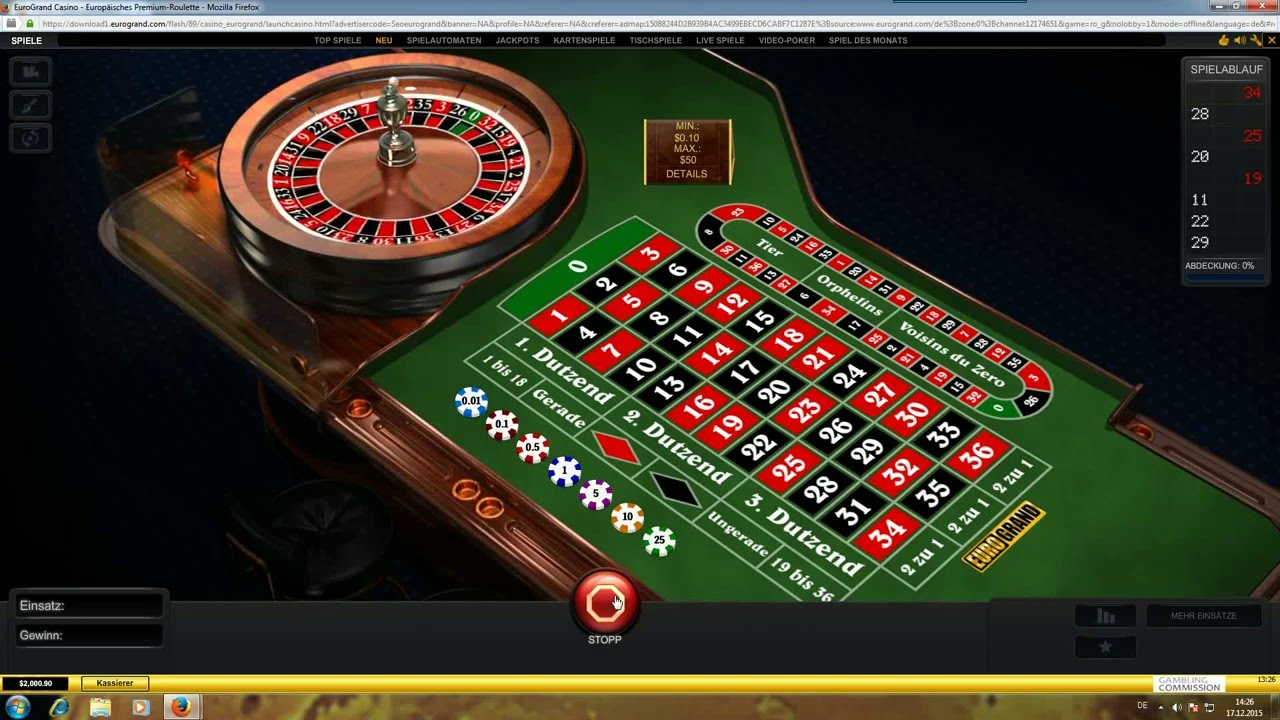 Roulette Strategie Fur Ec