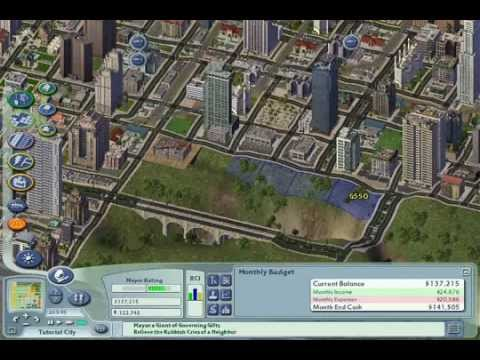 Commerce, commute, comections- SimCity 4 Tutorial Episode 7