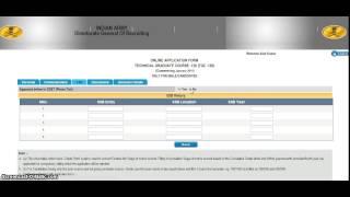 TGC 120 Online Application Process