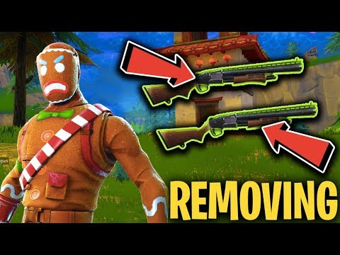DOUBLE PUMP BEING *REMOVED*!! ( Official Statement - Fortnite News )
