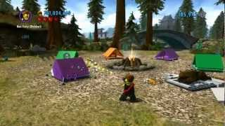 Lego City Undercover 100% Guide - Bluebell National Park (overworld Area) - All Collectibles