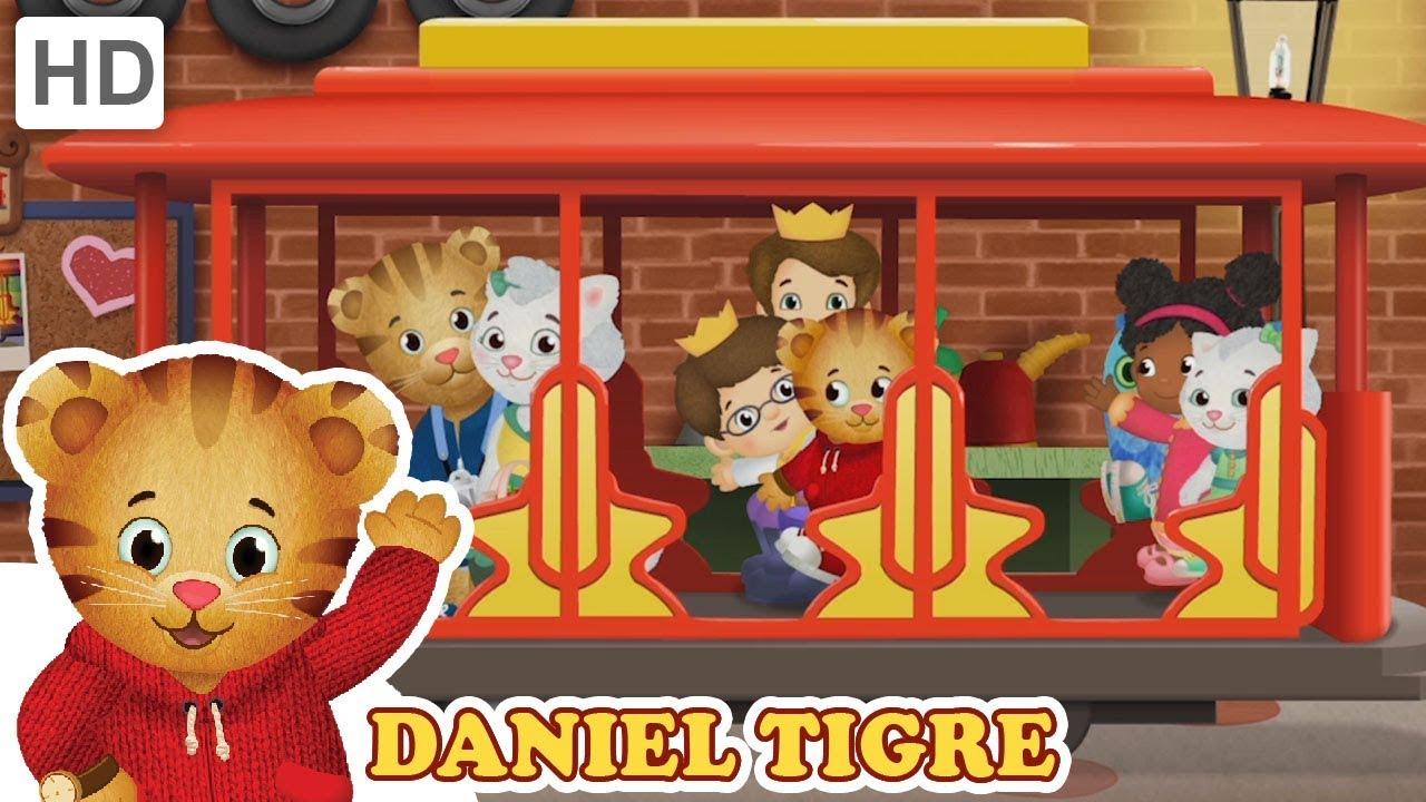 Daniel Tigre Em Portugues Veiculos Vermelhos Videos Para