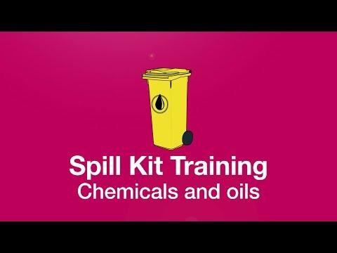 Spill Kit Training   Chemicals And Oils   IHASCO