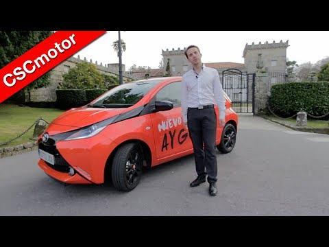 Toyota Aygo - 2015 | Prueba en carretera