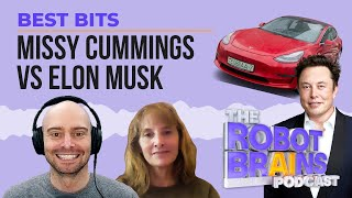 Missy Cummings vs Elon Musk | Best Bits