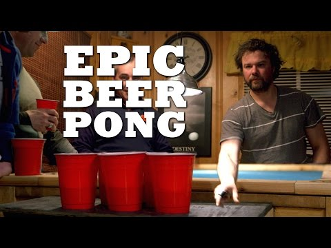 The Ultimate Beer Pong Table