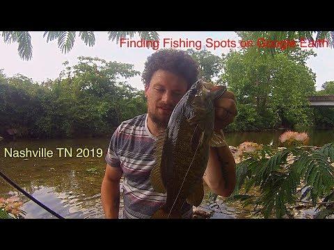 Google Earth Fishing Spot In Nashville