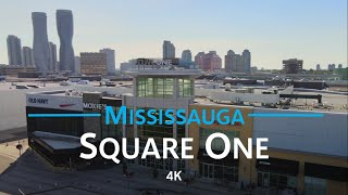 Square One - Mississauga, Ontario 🇨🇦 | 4K drone aerial tour