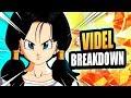Videl Breakdown! Dragon Ball FighterZ Tips & Tricks