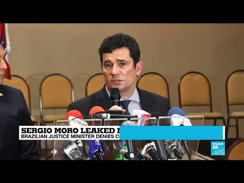Brazil justice minister Sergio Moro denies conspiring against Lula