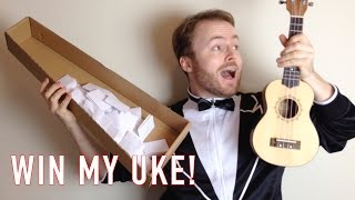 Win My Uke - March 2015 Prize Draw Giveaway!
