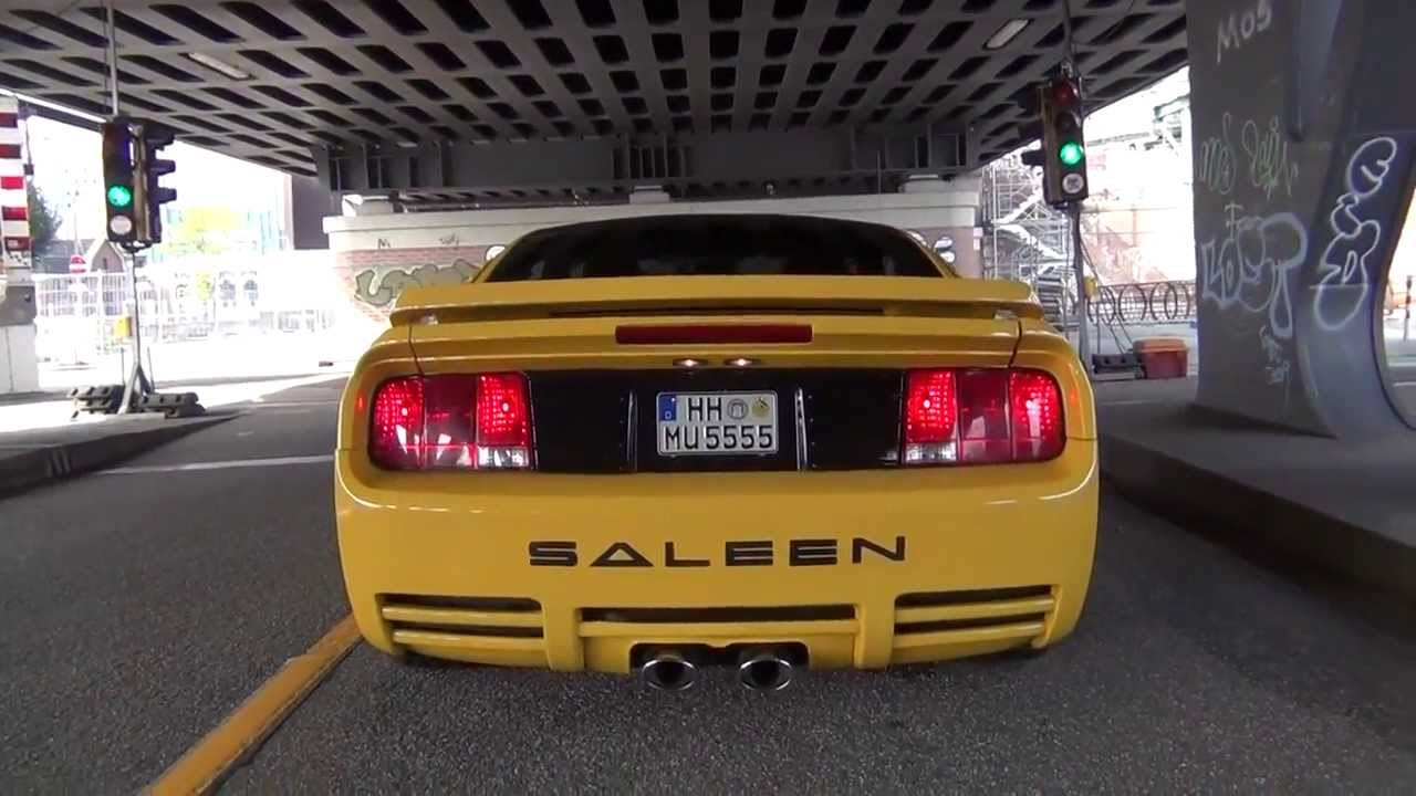 Ford Mustang Saleen Hamburg Supercharger Muscle Car Sound