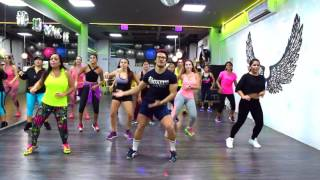 Meia Hora - Timbalada by Cesar James / Zumba Cardio Extremo Cancun