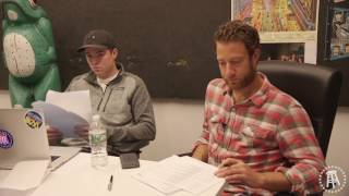 Dave interviews the 2017 summer interns