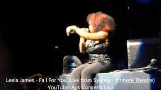 Leela James Fall For You Live from Enmore Theatre, Sydney, Australia - 2014.mp3