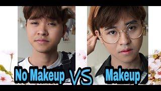 [Du Học Hàn Quốc] Makeup giống trai Hàn / Minwoo TV - Daily Makup , Men Makeup