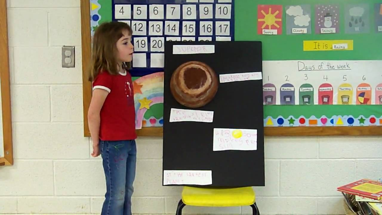 Jenny's Science Project - Jupiter - YouTube