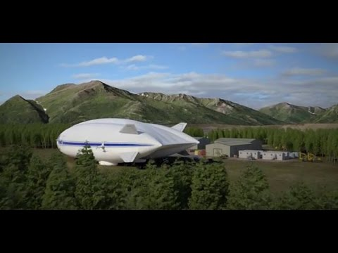 Hybrid Airship: No Roads, No Problem