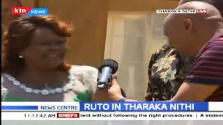 DP Ruto in Tharaka Nithi: Recollecting the destruction of war