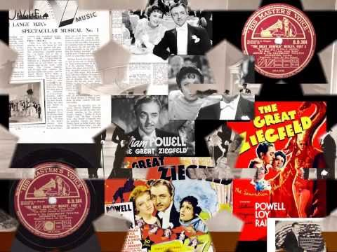 """The Great Ziegfeld"" Medley - Anton & the Paramount Theatre Orchestra - 1936"