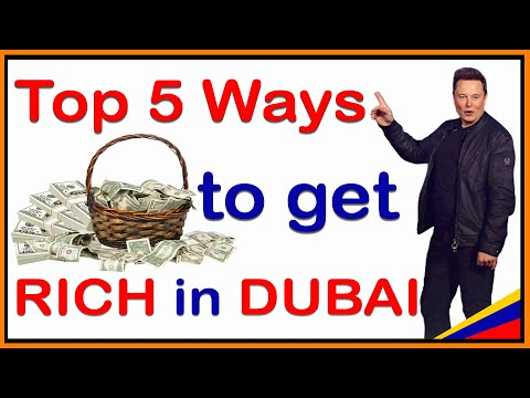 Best 5 way to become Millionaire in Dubai, How to earn $100/ day