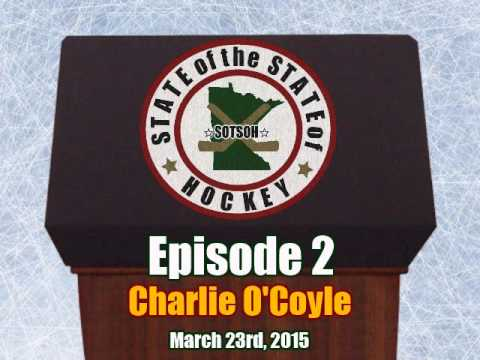 SOTSOHockey Podcast - Episode 2 - Charlie O'Coyle (3-24-15)