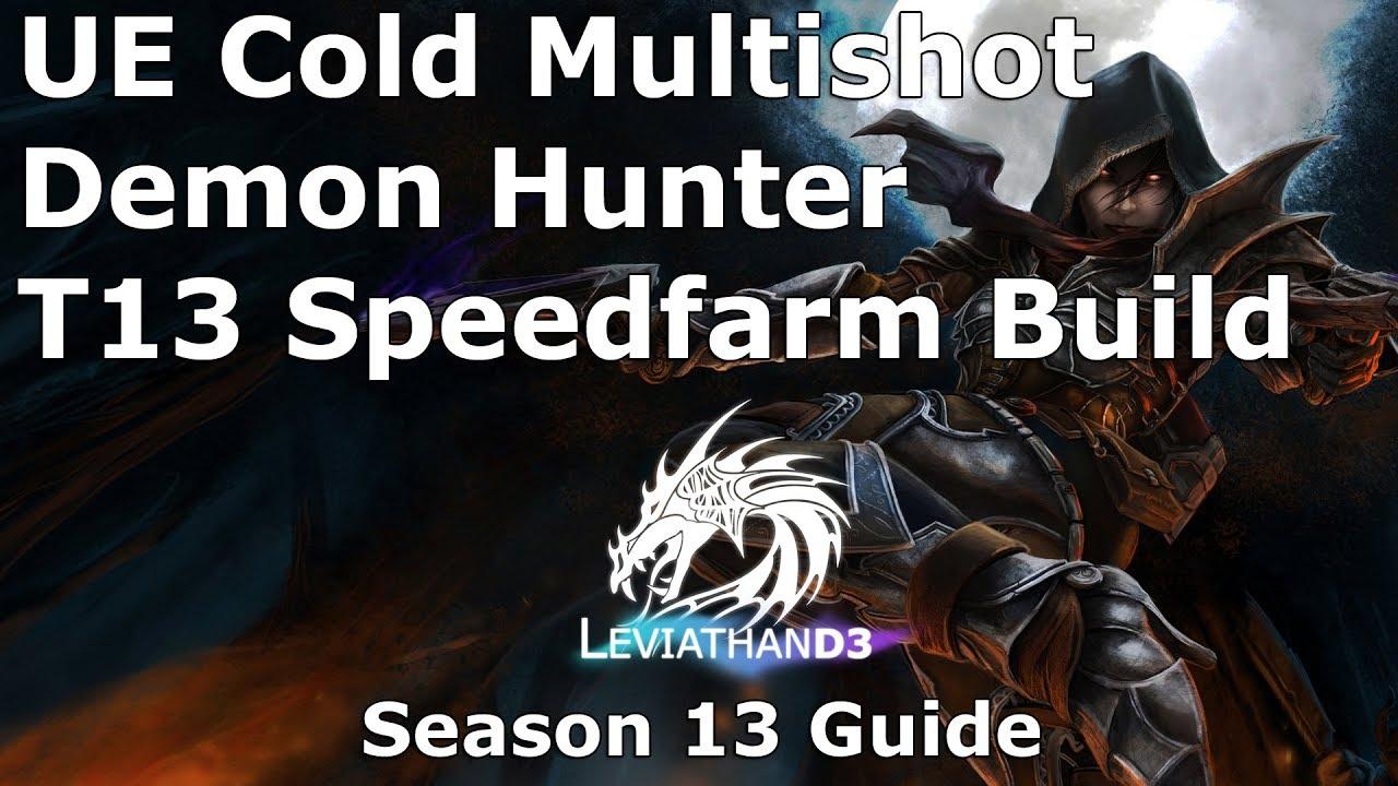 Diablo  Demon Hunter Ue Build