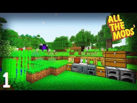 All The Mods 3 | Cursed Earth Mob Farm! | E06 (All The Mods