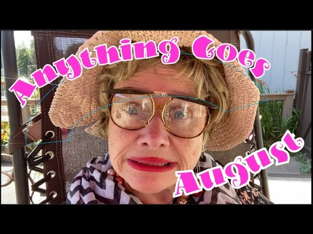 Anything Goes August - Woo Hoo Wednesday